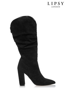 Lipsy Almond Toe Calf Boot