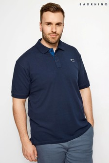 BadRhino Plain Stretch Polo Shirt