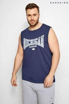 BadRhino Michigan Print Muscle Vest
