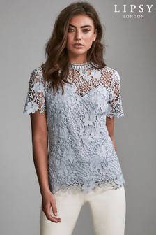 Lipsy Floral Lace Top