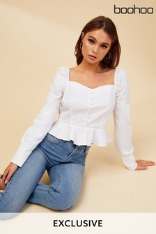 f32d253ecf96f9 Buy Women's tops Tops Blouses Blouses Boohoo Boohoo from the Next UK ...