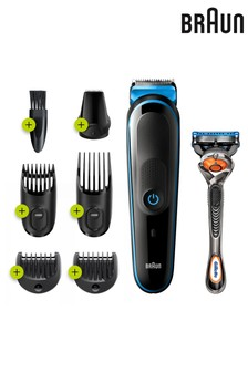 Braun 7 in 1 MGK3245 Men Beard Trimmer, Face Trimmer and Hair Clipper