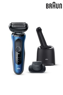 Braun Series 6 60-B7200cc Electric Shaver for Men. SmartCare Center, Precision Trimmer