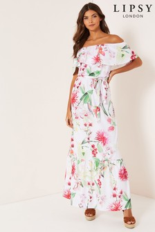 Lipsy Bardot Maxi Dress