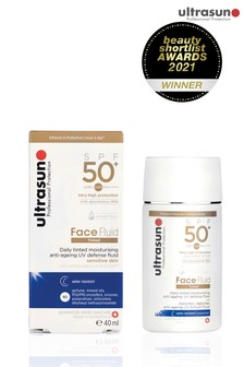 Ultrasun Tinted Face Fluid 50+SPF - Honey