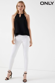 """Only Royal High Waisted Skinny Jeans 34"""" Leg"""