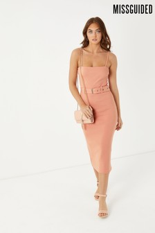 Missguided Cami Midi Dress