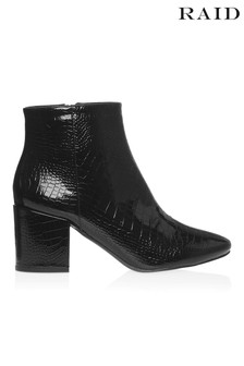 Raid Patent Ankle Boot