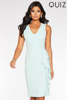 Quiz Side Detail Midi Dress