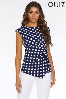 Quiz Polka Dot Top