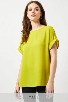 Dorothy Perkins Tall Button Back Tee