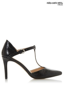 Head Over Heels T-Bar Court Shoes