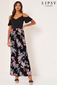 Lipsy - Lange Amy 2-in-1-jurk met print