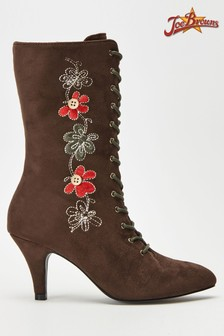 Joe Browns Bohemian Belle Embroidered Boots