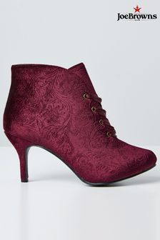 Joe Browns Velvet Boots