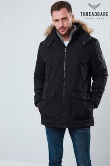 Threadbare Parka Faux Fur Jacket