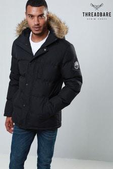 Threadbare Quilted Parka Jacket