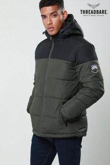 Threadbare Panel Hooded Jacket