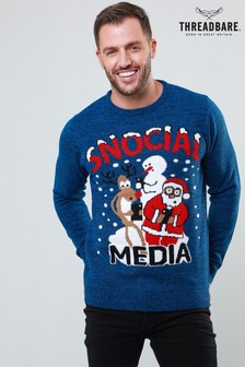 Threadbare Christmas Jumper