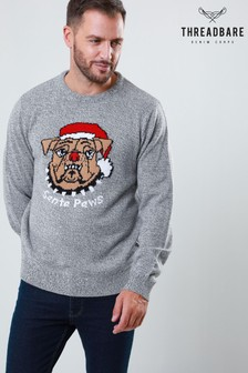 Threadbare Santa Paws Christmas Jumper
