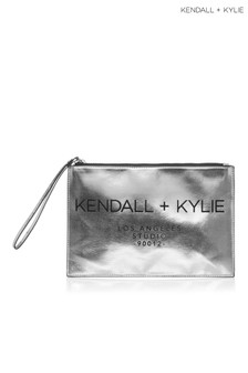 Kendall & Kylie Vegan Leather Clutch