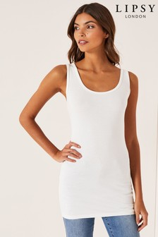 Lipsy Long Line Vest Top