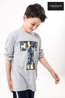 Threadboys Varsity 'T' Neon Long Sleeve Jersey