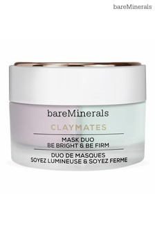 bareMinerals Double Duty Clay Mask Duo - Brighten & Firm 58ml