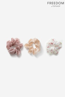 Freedom Mixed Scrunchie Three Pack Multipack