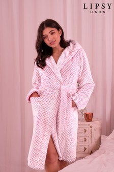 Lipsy Textured Spotted Robe
