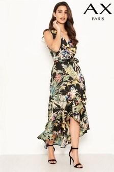 AX Paris Floral Print Midi Dress