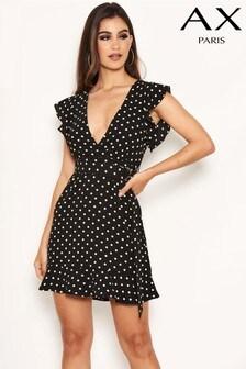 AX Paris Polka Dot Day Dress