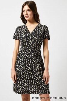 Dorothy Perkins Ditsy Print Wrap Dress