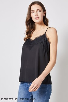Dorothy Perkins Lace Trim Cami Top