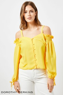 Dorothy Perkins Square Neck Milkmaid Top