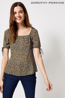 Dorothy Perkins Disty Square Neck Top