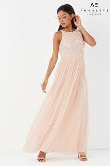 Angeleye Sleeveless Maxi Dress