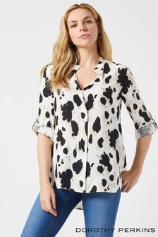 Dorothy Perkins Abstract Print Shirt