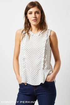 Dorothy Perkins Ruffle Top
