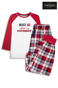 Threadboys Contrast Raglan PJ Set