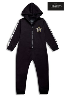 Threadboys Sleep Squad Tape Detail Onesie
