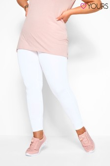 """Yours Curve 28"""" Tummy Control Soft Touch Leggings"""