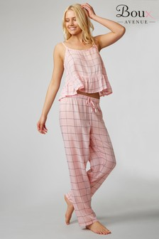 Boux Avenue Peplum Pyjama Set