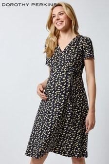 Dorothy Perkins Maternity Ditsy Wrap Dress