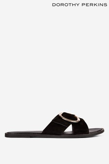 Dorothy Perkins Buckle Sliders