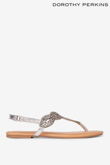 Dorothy Perkins Jewel Embellished Sandals