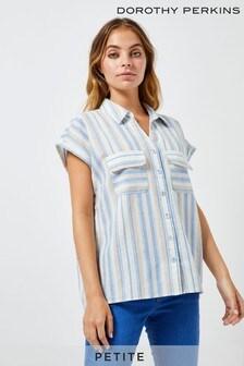 Dorothy Perkins Petite Striped Shirt