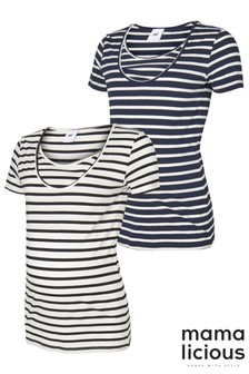 Mamalicious Maternity Nursing Tee - Pack of 2