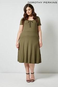 Dorothy Perkins Curve Scoop Midi Dress