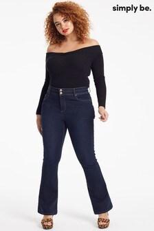 Simply Be Shape & Sculpt Bootcut Jeans